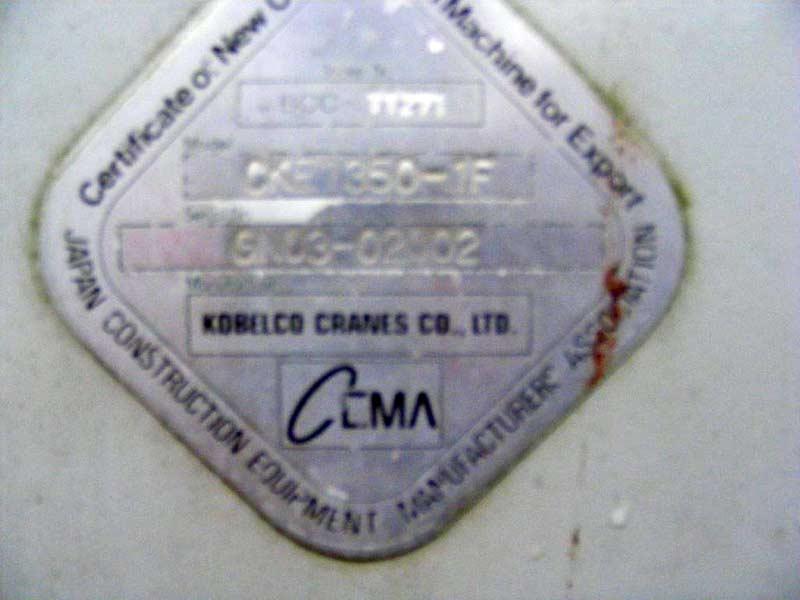 Kobelco CKE1350 –1F