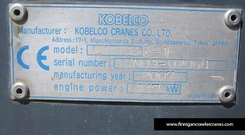 Kobelco CKE1350 (2007)